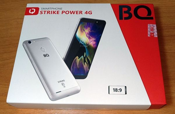 BQ Strike Power 4G