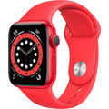 Apple Watch Series 6 GPS 44mm Aluminum Case with Sport Band Red (РСТ)